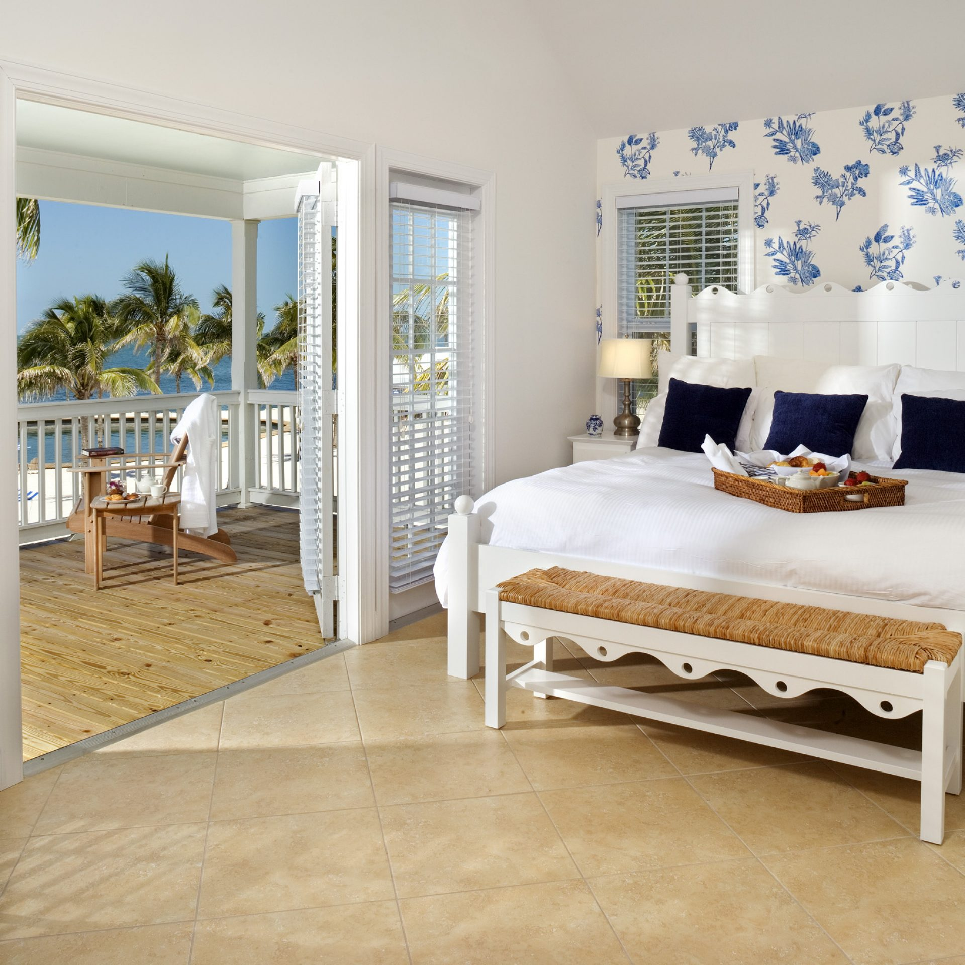 Master Bedroom with Refreshing Views