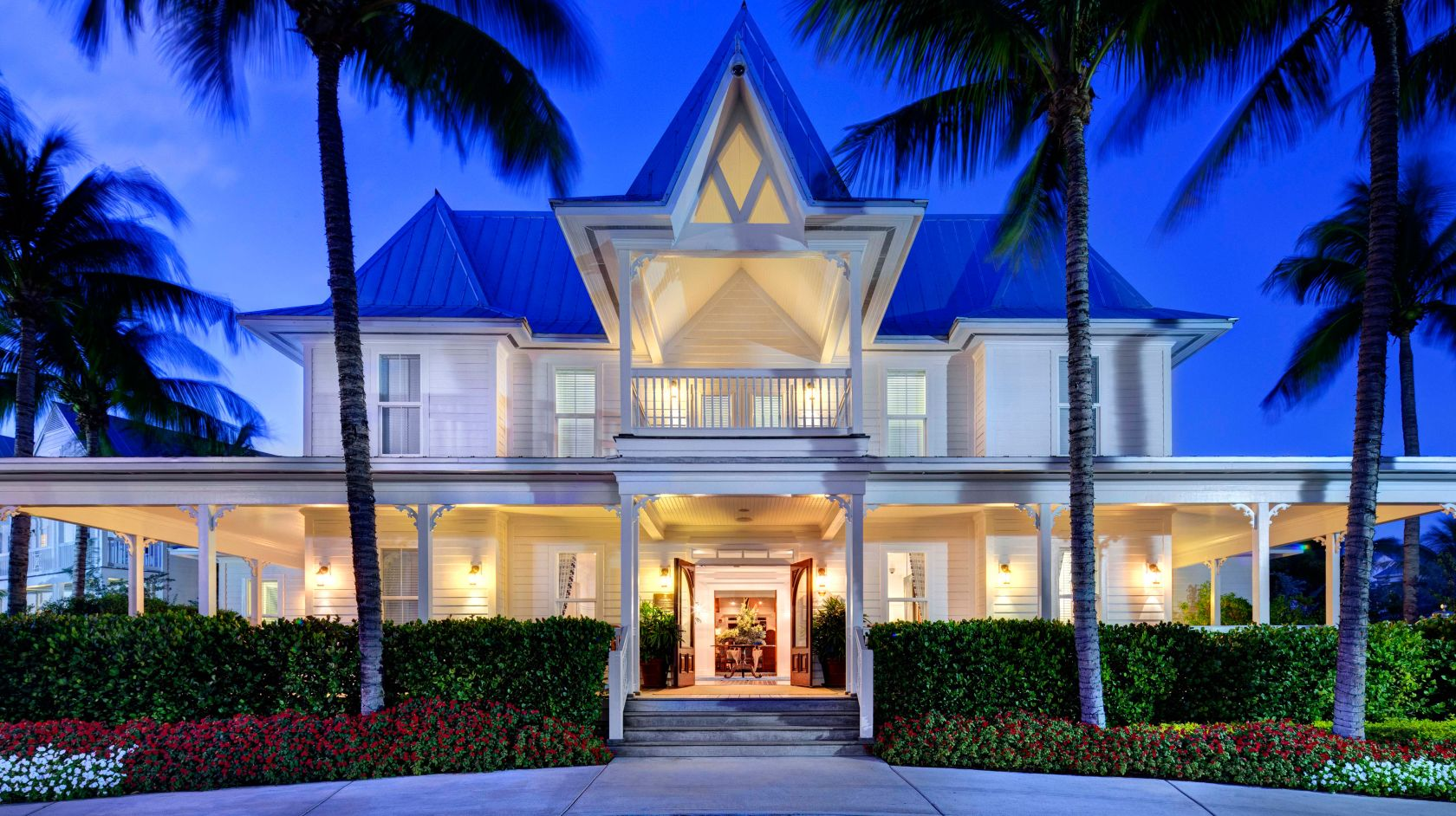 Explore Singh Resorts' Luxury Key West Hotels - Tranquility Bay at Night